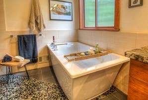 barrier free shower remodel in los altos hills, ca