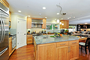 mountain view ca kitchen remodel for entertaining