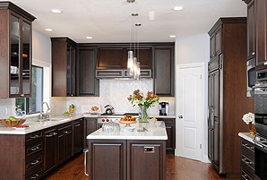 classic kitchen remodel in mountain view ca