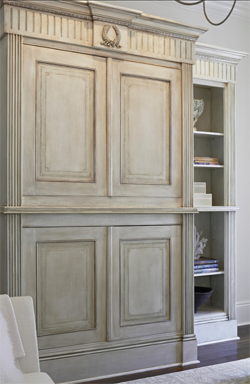 French Armoire 					designed by Twisted Interior Design