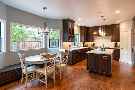 Mountain View home remodeling after