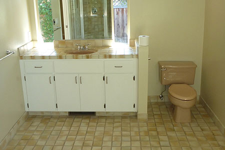 sunnyvale bathroom remodeling before