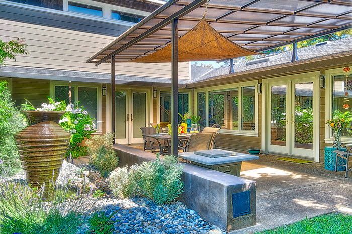 Nice Pergolas, Arbors, And Patio Covers Remain Popular Landscape Features And  Can Set The Footprint For Additional Living Space. They Block The Sun While  Still ...